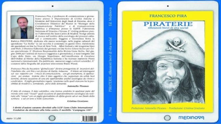 """Francesco Pira presenta il suo libro """"Le Piraterie"""" alla Feltrinelli"""