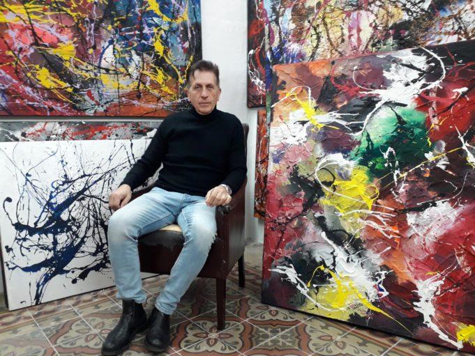 Salvatore Bellanca e il suo espressionismo astratto
