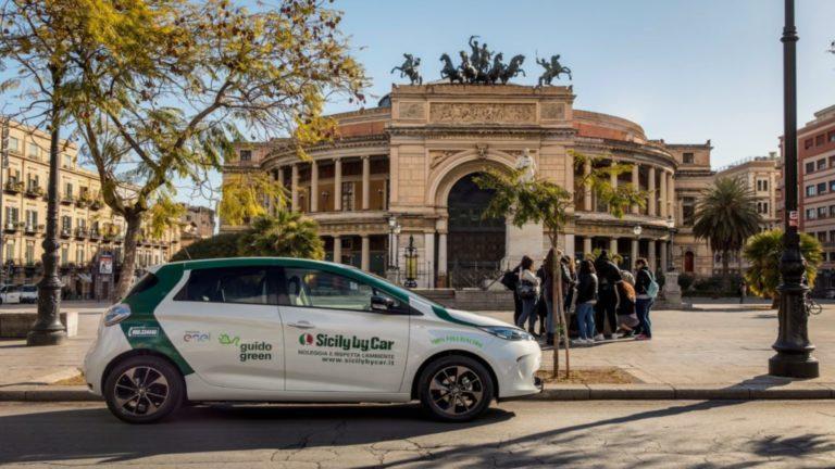 Sicily by car, auto eco-friendly: accordo con DAT