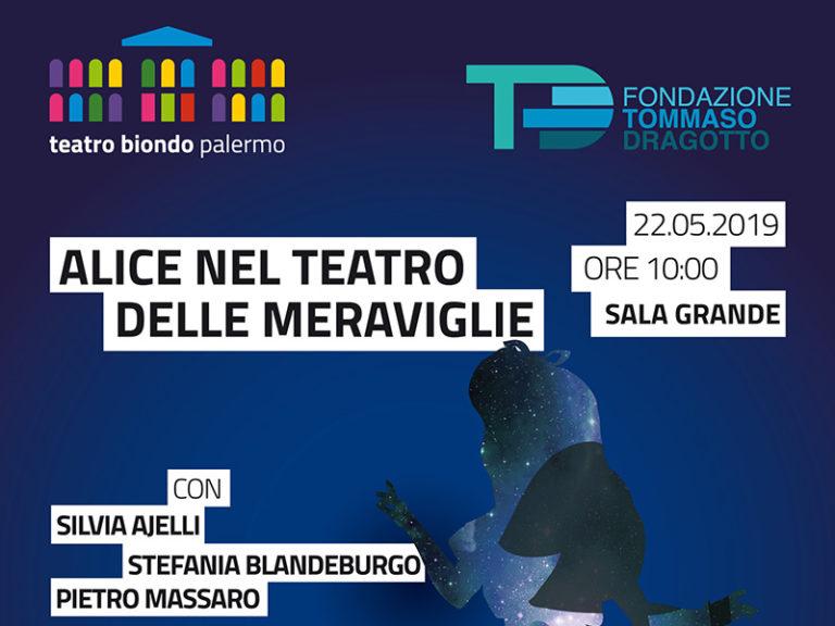 Alice nel teatro delle meraviglie al Teatro Biondo di Palermo